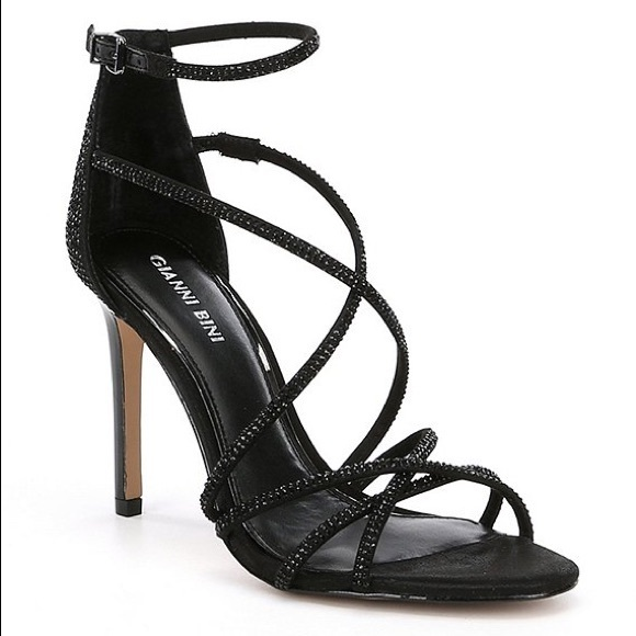 6a00a411bfa Gianni Bini Anselle Jeweled Strappy Dress Sandals